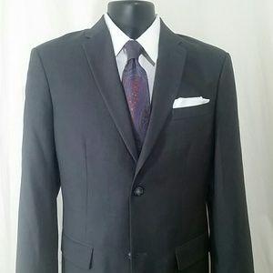 PERRY ELLIS Gray Blazer Size 40 R